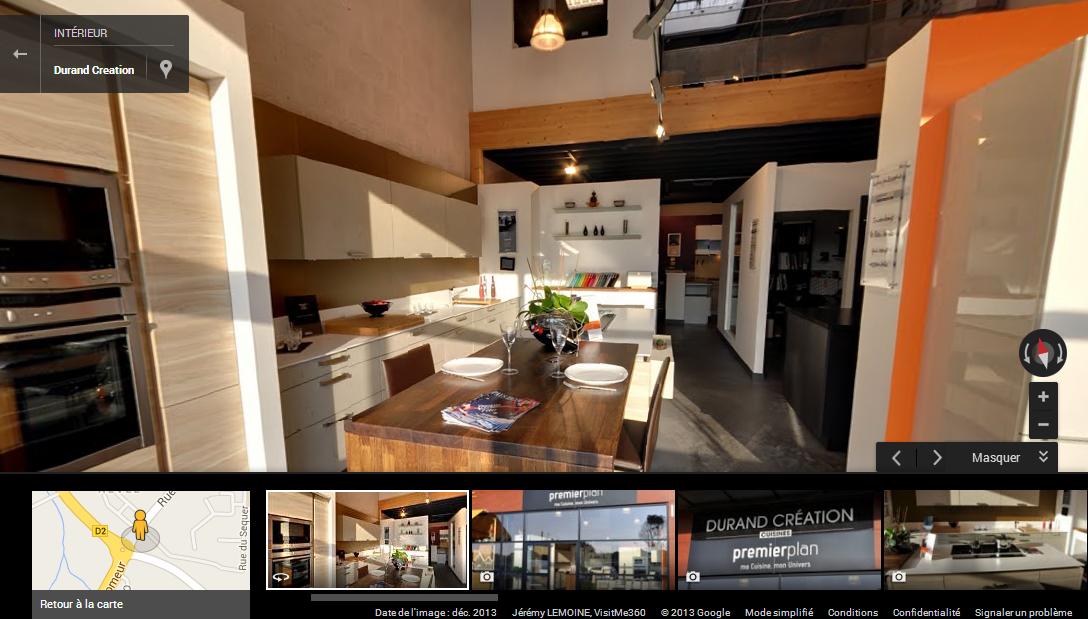 visite virtuelle google de durand cr ation pont l 39 abb. Black Bedroom Furniture Sets. Home Design Ideas